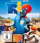 Rio - German Blu-Ray movie cover (xs thumbnail)