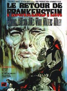 Frankenstein Must Be Destroyed - French Movie Poster (xs thumbnail)