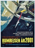 2001: A Space Odyssey - Danish Movie Poster (xs thumbnail)