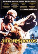 Amores Perros - Italian Movie Poster (xs thumbnail)