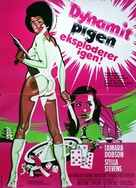 Cleopatra Jones and the Casino of Gold - Danish Movie Poster (xs thumbnail)