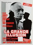 La grande illusion - Belgian Movie Poster (xs thumbnail)