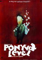 Budbringeren - Hungarian Movie Poster (xs thumbnail)