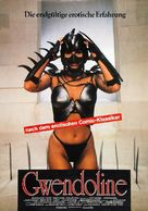 Gwendoline - German Movie Poster (xs thumbnail)