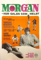 Morgan: A Suitable Case for Treatment - Swedish Movie Poster (xs thumbnail)