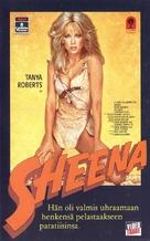 Sheena - Finnish VHS movie cover (xs thumbnail)