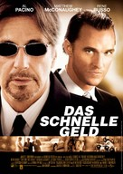 Two For The Money - German Movie Poster (xs thumbnail)