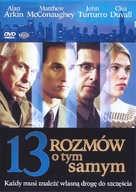 Thirteen Conversations About One Thing - Polish DVD cover (xs thumbnail)