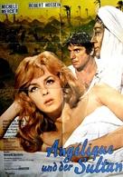 Angélique et le sultan - German Movie Poster (xs thumbnail)