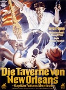 Adventures of Captain Fabian - German Movie Poster (xs thumbnail)