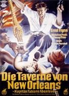 Adventures of Captain Fabian - German Movie Poster (xs thumbnail)