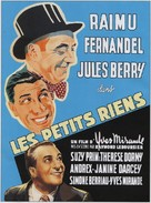 Petits riens, Les - French Movie Poster (xs thumbnail)