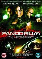 Pandorum - British DVD cover (xs thumbnail)