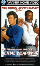 Lethal Weapon 3 - German VHS movie cover (xs thumbnail)