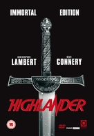 Highlander - British Movie Cover (xs thumbnail)