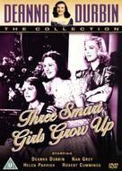 Three Smart Girls Grow Up - British DVD cover (xs thumbnail)