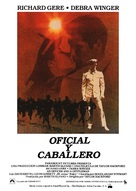 An Officer and a Gentleman - Spanish Movie Poster (xs thumbnail)
