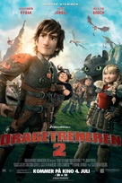 How to Train Your Dragon 2 - Norwegian Movie Poster (xs thumbnail)