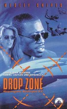 Drop Zone - German VHS cover (xs thumbnail)