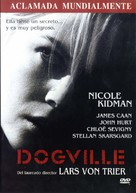 Dogville - Spanish DVD cover (xs thumbnail)