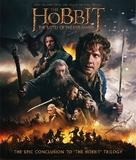The Hobbit: The Battle of the Five Armies - Blu-Ray cover (xs thumbnail)