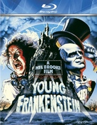 Young Frankenstein - German Blu-Ray cover (xs thumbnail)