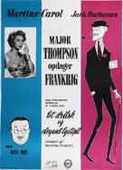 Les carnets du Major Thompson - Danish Movie Poster (xs thumbnail)