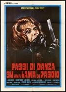 Passi di danza su una lama di rasoio - Italian Movie Poster (xs thumbnail)