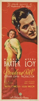 Broadway Bill - Movie Poster (xs thumbnail)