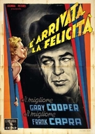 Mr. Deeds Goes to Town - Italian Movie Poster (xs thumbnail)