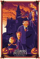 The Addams Family - British Movie Poster (xs thumbnail)