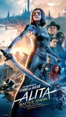 Alita: Battle Angel - Swedish Movie Poster (xs thumbnail)