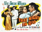 That Night in Rio - Movie Poster (xs thumbnail)