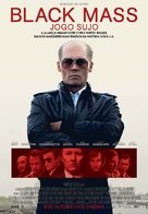 Black Mass - Portuguese Movie Poster (xs thumbnail)