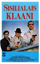 Le clan des Siciliens - Finnish VHS movie cover (xs thumbnail)