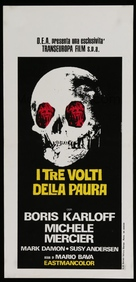 I tre volti della paura - Italian Movie Poster (xs thumbnail)