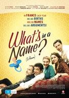 Le prénom - Australian Movie Poster (xs thumbnail)