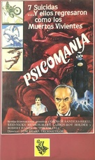 Psychomania - Spanish VHS movie cover (xs thumbnail)