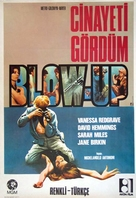 Blowup - Turkish Movie Poster (xs thumbnail)