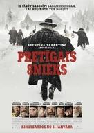 The Hateful Eight - Latvian Movie Poster (xs thumbnail)