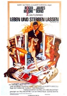 Live And Let Die - German Movie Poster (xs thumbnail)