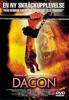 Dagon - Swedish Movie Cover (xs thumbnail)