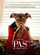 A Dog's Way Home - Serbian Movie Poster (xs thumbnail)