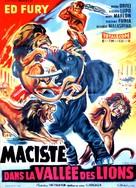 Ursus nella valle dei leoni - French Movie Poster (xs thumbnail)