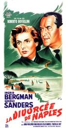 Viaggio in Italia - French Movie Poster (xs thumbnail)