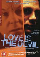 Love Is the Devil: Study for a Portrait of Francis Bacon - British DVD cover (xs thumbnail)