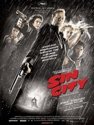 Sin City - French Movie Poster (xs thumbnail)