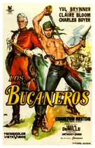 The Buccaneer - Spanish Movie Poster (xs thumbnail)