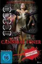 Cannibal Diner - German DVD cover (xs thumbnail)