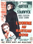 The Man with a Cloak - Belgian Movie Poster (xs thumbnail)